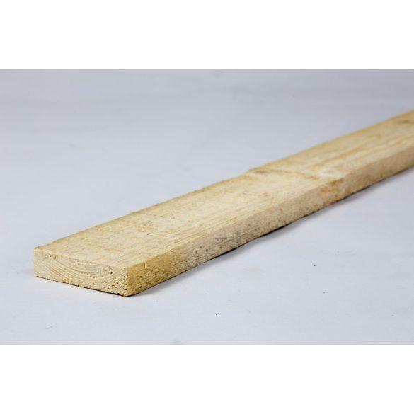 Lucfenyő deszka 2,5x12x400cm