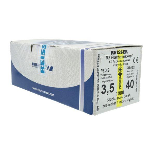 Reisser Forgácslapcsavar 4x60mm 500db/db