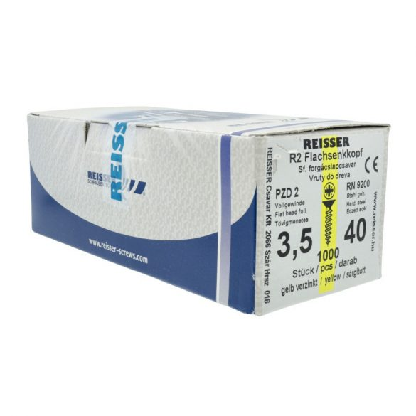 Reisser Forgácslapcsavar 5x80mm 200db/dob