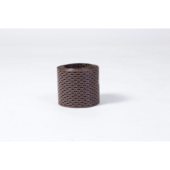 Barna perforált szellőző szalag 10cm